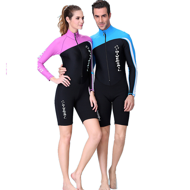 An entry-level wetsuit for swimming will probably be a neoprene suit with 30% stretch but one with up to 60% stretch will give you greater freedom of movement but may be more expensive.