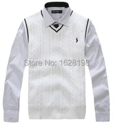 Бренд мужчины в жилет свитер трикотаж тёплый жилет мужчины пуловер с v-образным вырезом свободного покроя майка