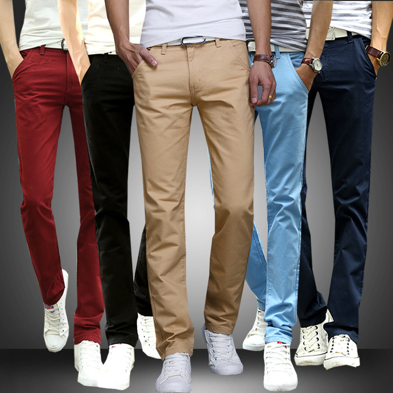 5ddba2fd Cheap trouser style, Buy Quality clothing at low prices directly from China  clothing stores in china Suppliers: Stylish Men&'s Slim-fit Jeans Casual ...