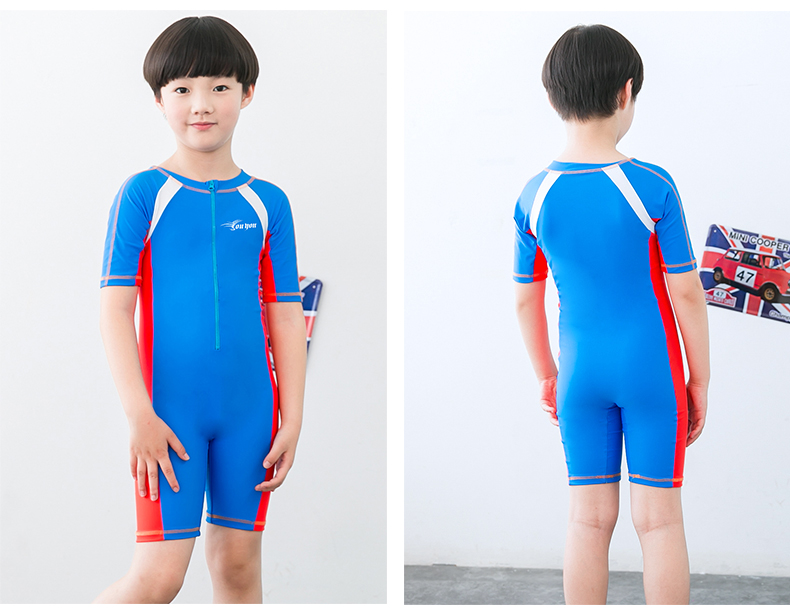 cba854bd26 2019 Child Swimwear One Piece Boys Girls Swimsuits Kids Bathing Suits Baby  Swimsuit Girl Children Beach Wear Diving Swimming Suit From Blueberry07, ...