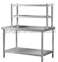 4 layers commercial kitchen storage shelf stainless steel kitchen