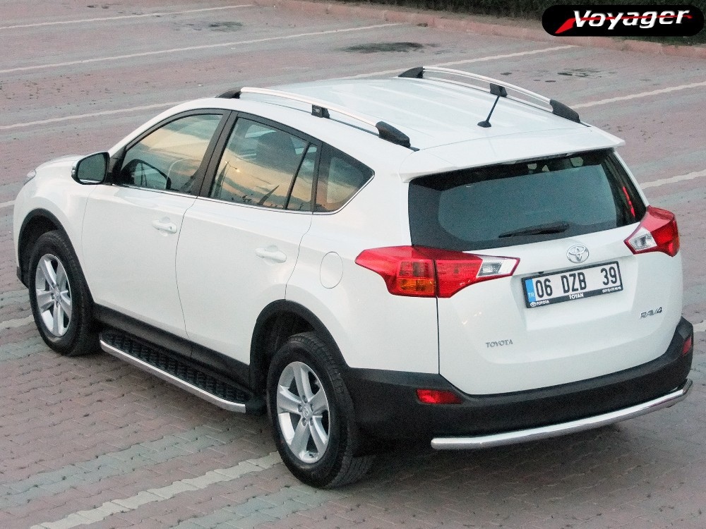 toyota rav 4 2014 accessories buy side steps roof rails front guards rear protectors product. Black Bedroom Furniture Sets. Home Design Ideas