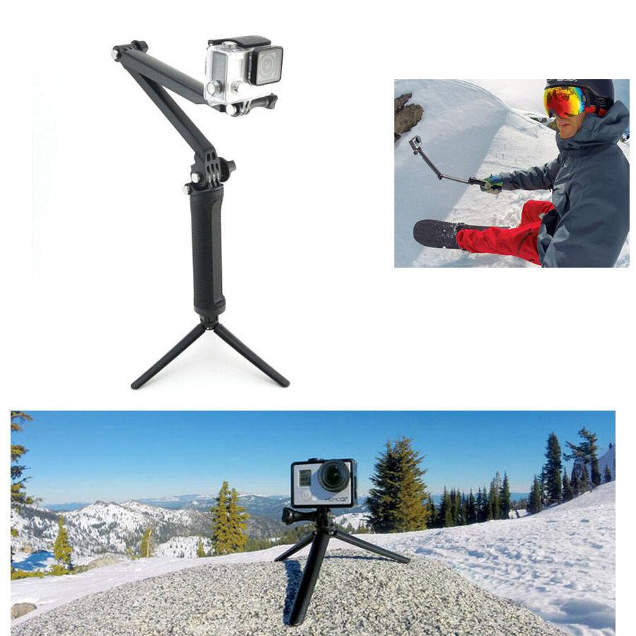 DHL Free Shipping , 2 Pcs/Lot Adjustable 3 Way Mount Bracket Hand Grip Arm