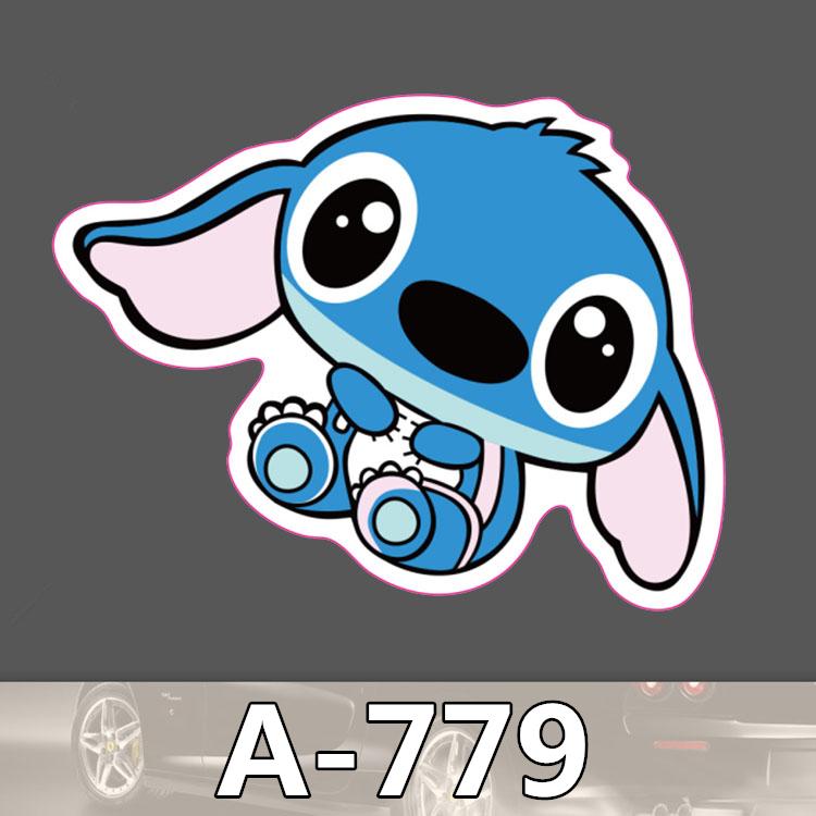 A 779 Stitch Waterproof Cool DIY Stickers For Laptop Luggage Fridge Skateboard Car Graffiti Cartoon Sticker