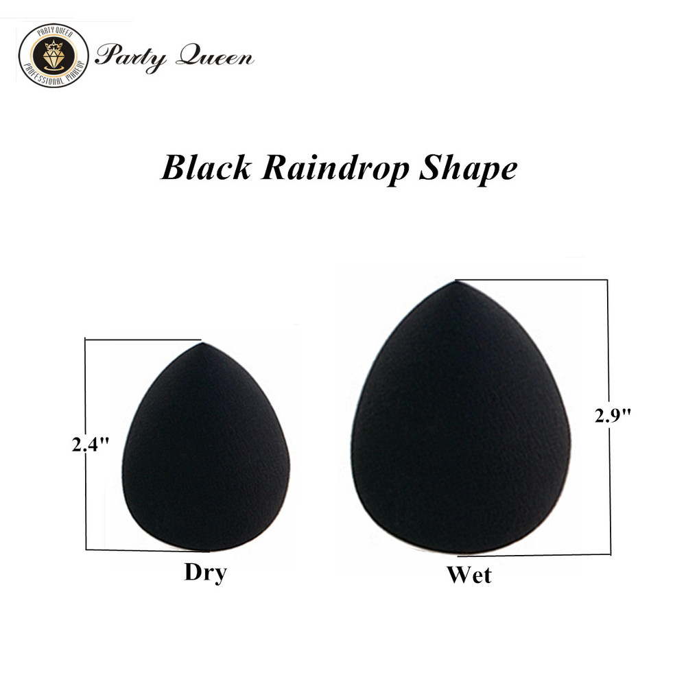 Wholesale-Party Queen Makeup Sponge Blender Set Top Latex Free Material For  Makeup Applicator Sponge Flawless Beauty Water Droplets Puff