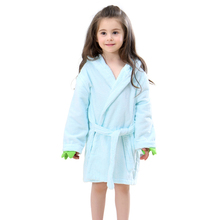 654f10a007 (Ship from US) MICHLEY Kids Bath robes Adorable Baby Girl Roupao Hooded  Children s Towel Dinosaur Bathrobes Beach Swimwear Boy Pajamas JY0245