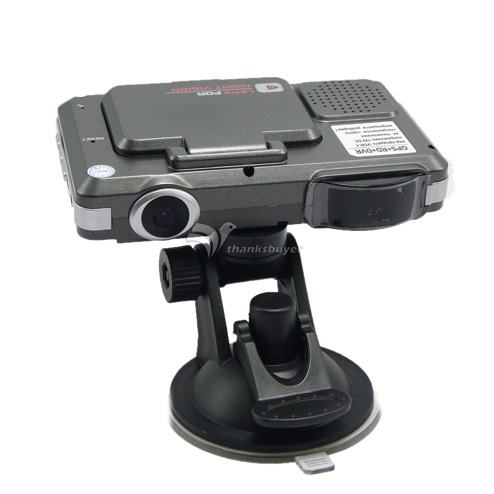 Мути россии 3 in1 рекордер автомобиля DVR / радар лазерный детектор скорости / GPS рекордер
