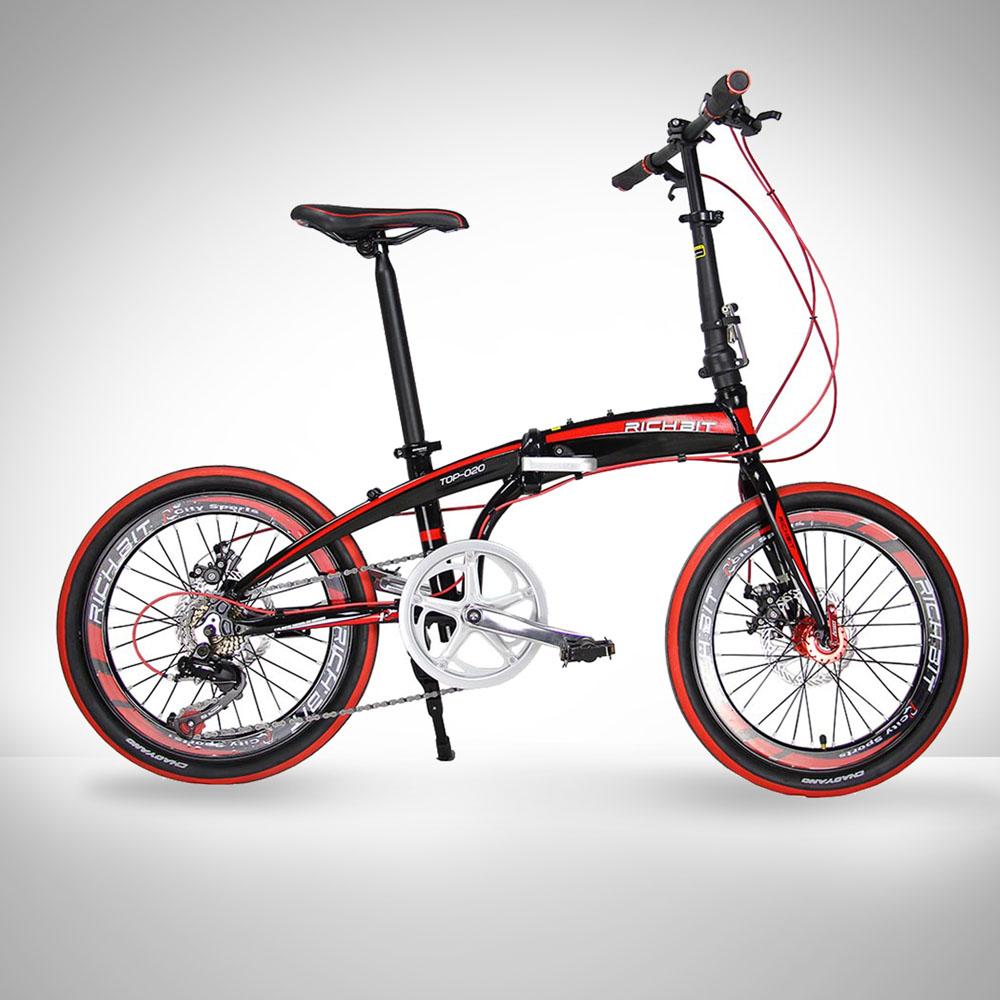 20in mini folding bike shiman0 7 gears portable mountain road bicycle aluminum frame city sports. Black Bedroom Furniture Sets. Home Design Ideas