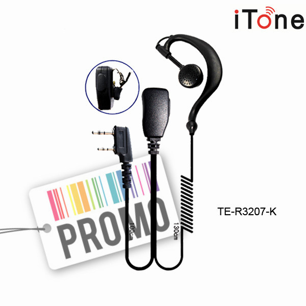 2 Way Radio Headset Ear Hook Earpiece TK3207 TK2207 UV5R BF888S Walkie  Talkie Earphone Mic Speaker 2 Way Radio Headset-in Walkie Talkie from  Phones &