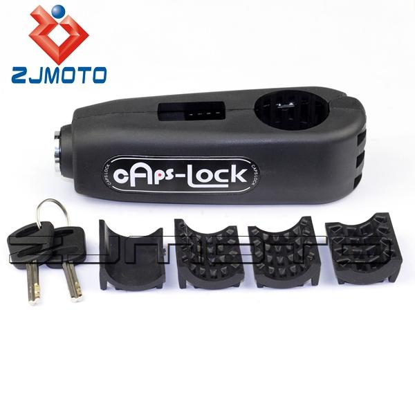Zjmoto высокое качество микро-волокна и встроенный нержавеющей стальной проволоки руль рычаг тормоза замка замка безопасности бесплатная доставка