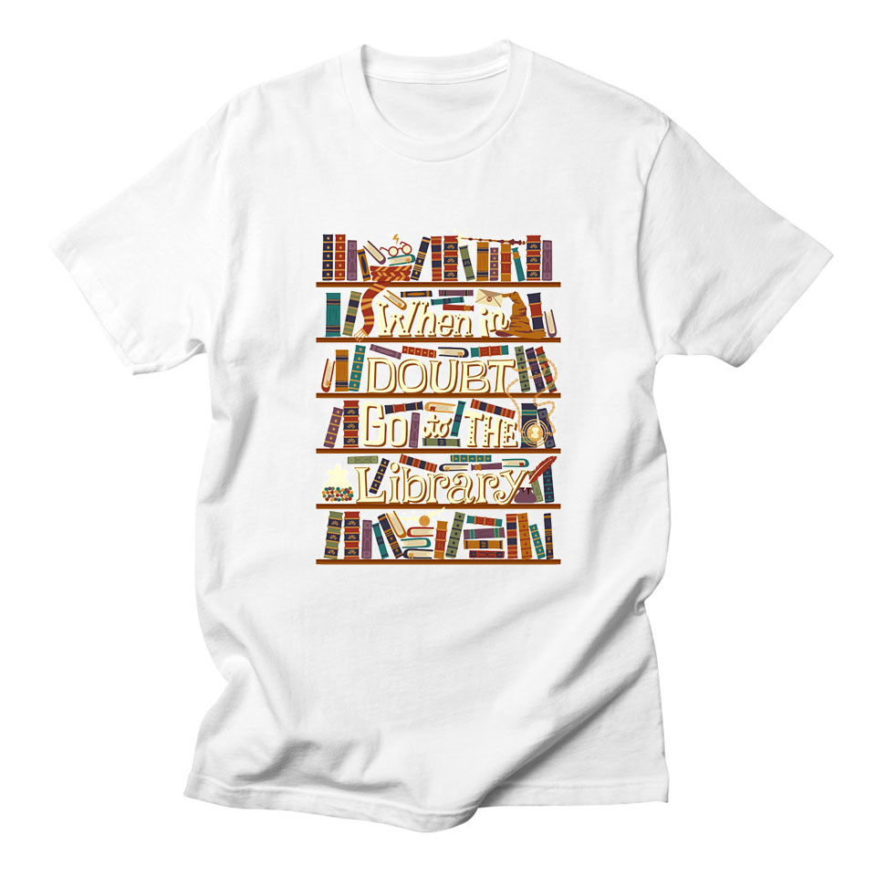 b5b8295ff3aa Detail Feedback Questions about Books Go To The Library T Shirt ...