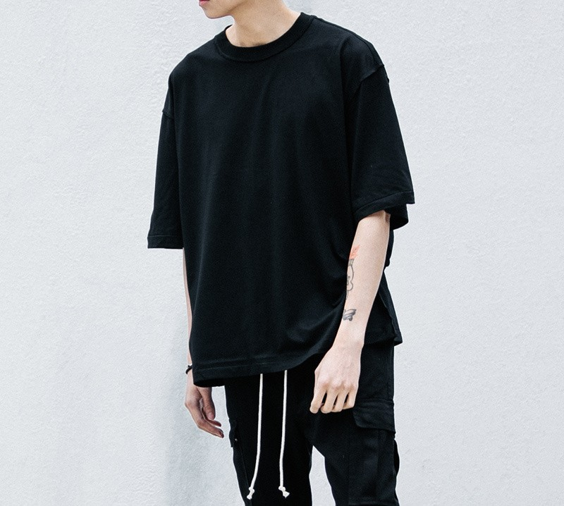 Compre TOP Hombre Streetwear Justin Bieber Camiseta Ropa Urbana Kanye West  Plain Blanco   Gris   Negro Camisas Oversize Camiseta En Blanco Miedo A  Dios A ... 22488f848fc