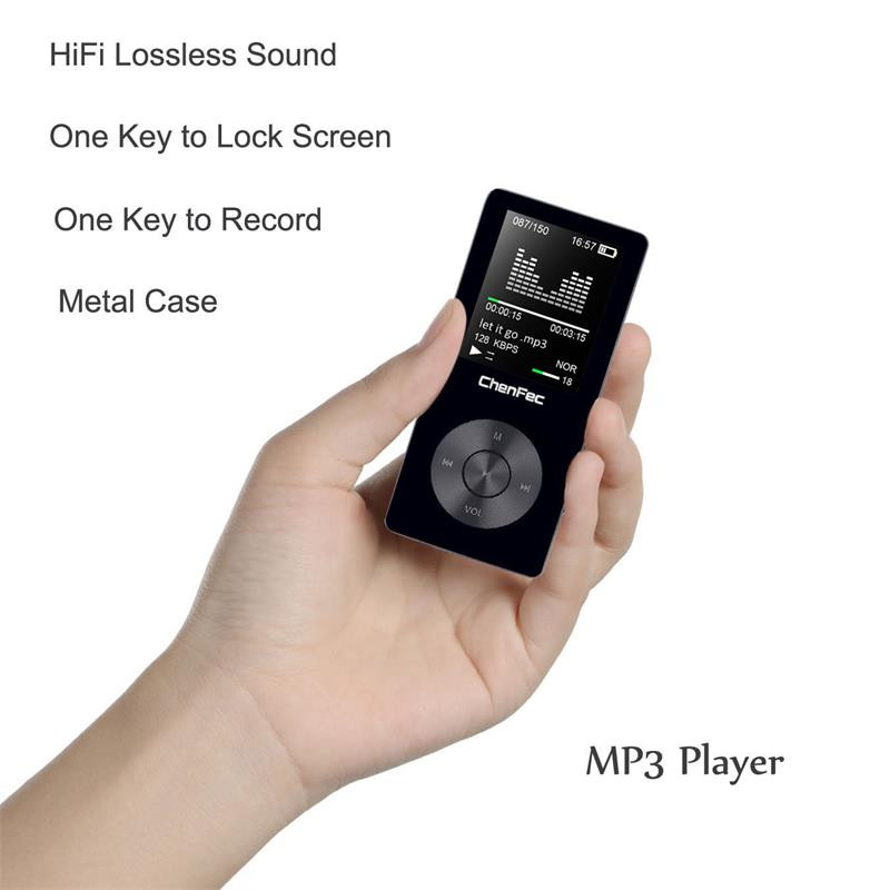 Original HiFi MP3 Player With Speaker Metal High Quality 8GB Lossless Music  Player Supports 128GB Memory Card With FM Radio Wifi Mp3 Player 160gb Mp3