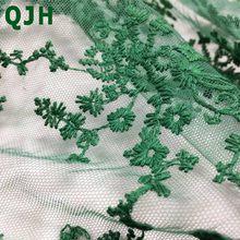 Высококачественная фатиновая кружевная вуаль, французский гипюр, Тюлевая сетчатая ткань для платья, бесплатная доставка, черный, белый, роз...(Китай)