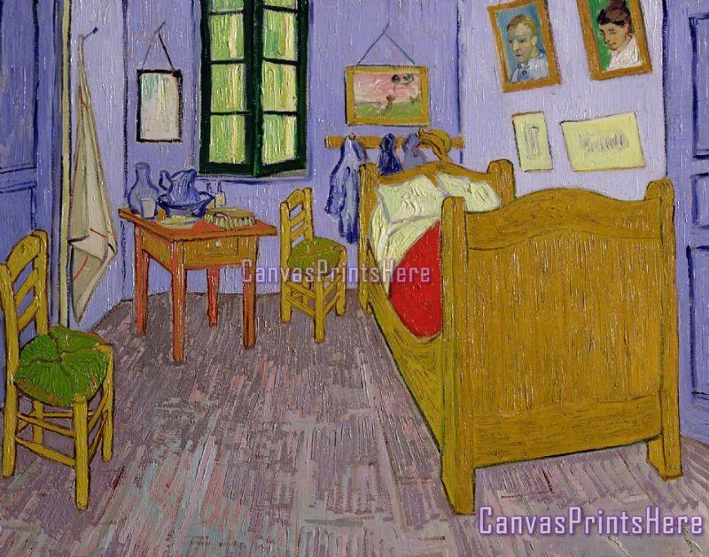 Vincent Van Gogh Van Goghs Bedroom At Arles Canvas Print