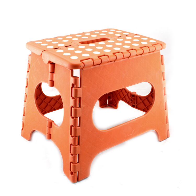 Portable Easy Take Step Stool Foldable Plastic Stool