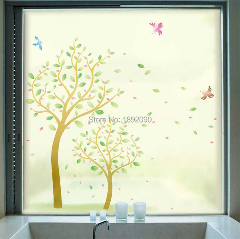 Frosted Opaque Decorative Stained Glass Window Film
