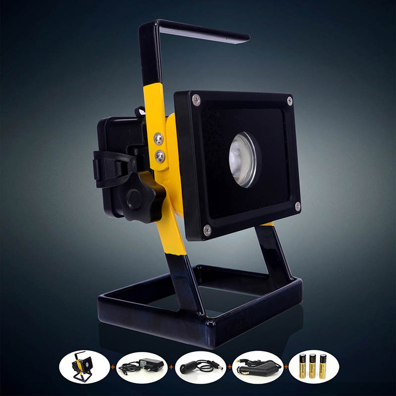Outdoor Flood Light Portable: 2015 Best 2400Lm Portable Floodlight Led 30w Rechargeable