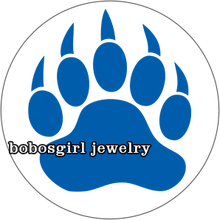 Тигр Медведь Леопард лапа Футбол NCAA стеклянная Кнопка стеклянный кабошон GS9779(Китай)
