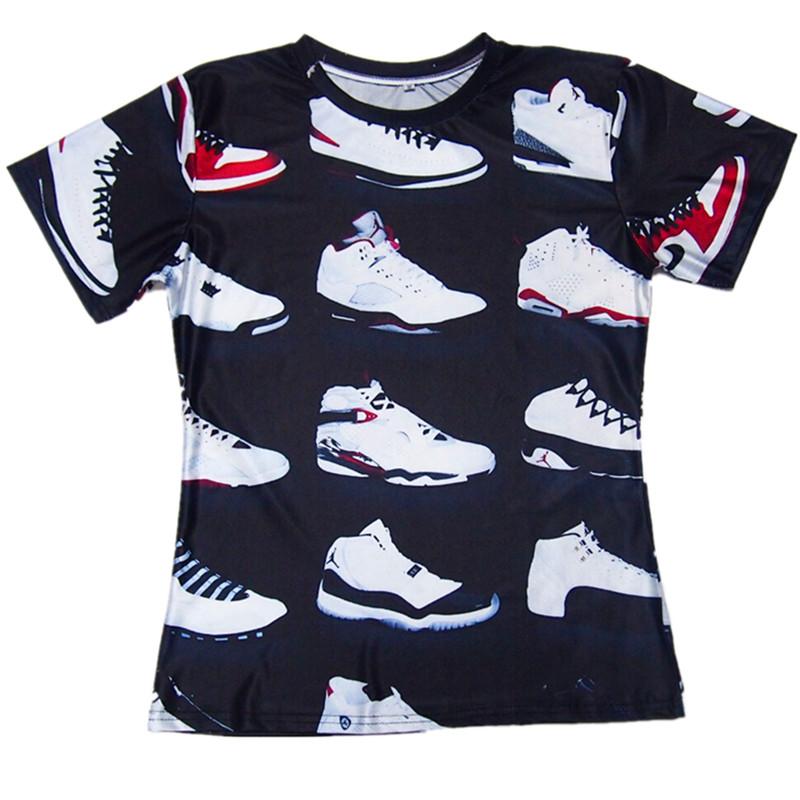519af539a5e JORDAN 23 Classic Shoes 3D Printed T shirts Hip Hop Funny Men's T Shirt  Summer Pure American Special Cut Tees Tshirt Homme on Aliexpress.com |  alibaba group