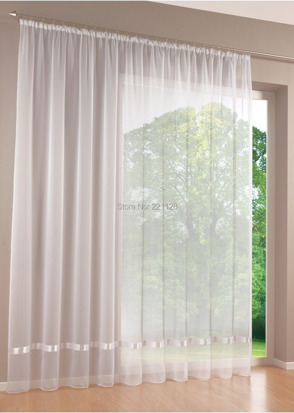 acheter qualit blanc fen tre tous les match crans rideau tulle pure curtian. Black Bedroom Furniture Sets. Home Design Ideas