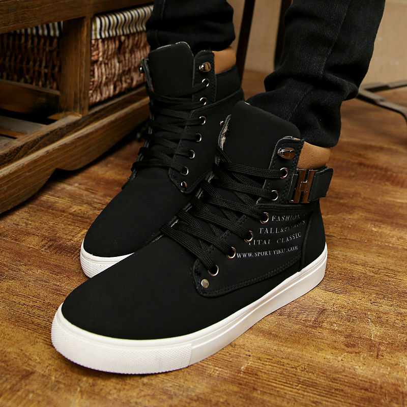 3bb51f04cf Detail Feedback Questions about Hot 2019 Spring Autumn Lace Up Men's ...