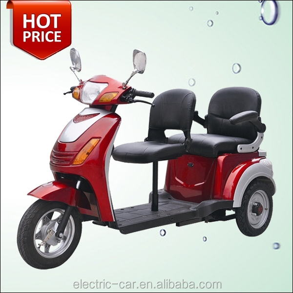 factory direct sale red 3 wheel 2 seat adult electric mobility scooter motorcycle buy 3 wheel. Black Bedroom Furniture Sets. Home Design Ideas