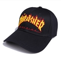 2016 Thrasher Baseball Cap 3d Letter Print Cat Caps Street Danse Men Women Summer Hats Snapback