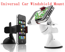 Universal Car Windshield Mount For Mobile Phone Rotating Holder Bracket Stand For iPhone 5 6 Plus Galaxy S4 S5 S6 Note 5 Z5 GPS