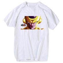 YOUTHUP 2020 мужские футболки с принтом аниме Dragon Ball футболки с коротким рукавом повседневные хлопковые белые футболки мужские летние топы разме...(Китай)