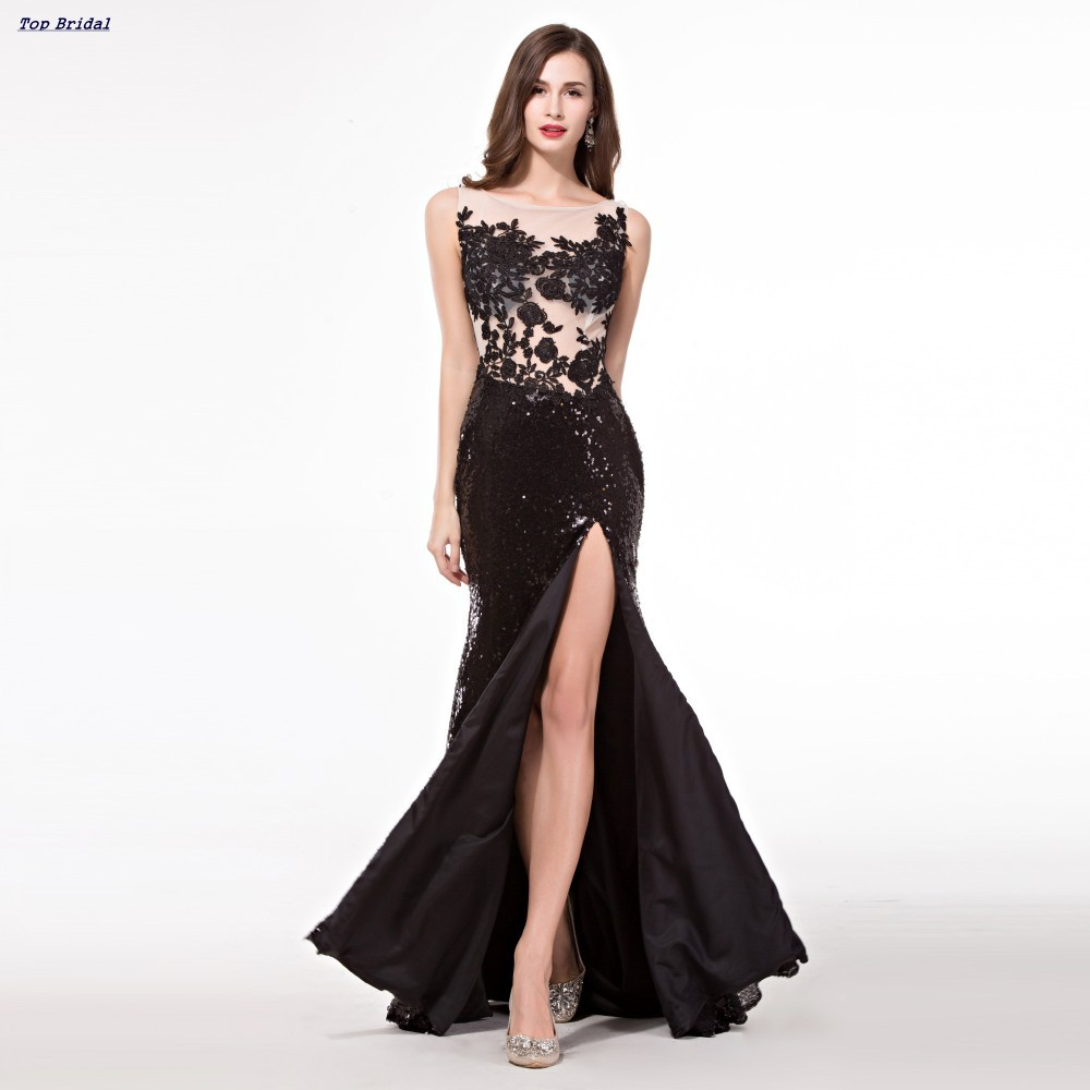 aa869a476f4020 Turmec » elegant black one-shoulder asymmetrical prom dress