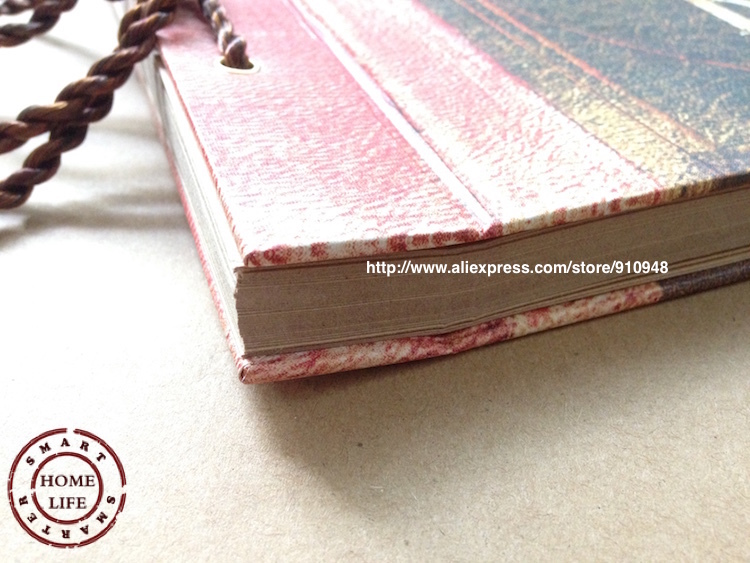 Photo album book sticky pages