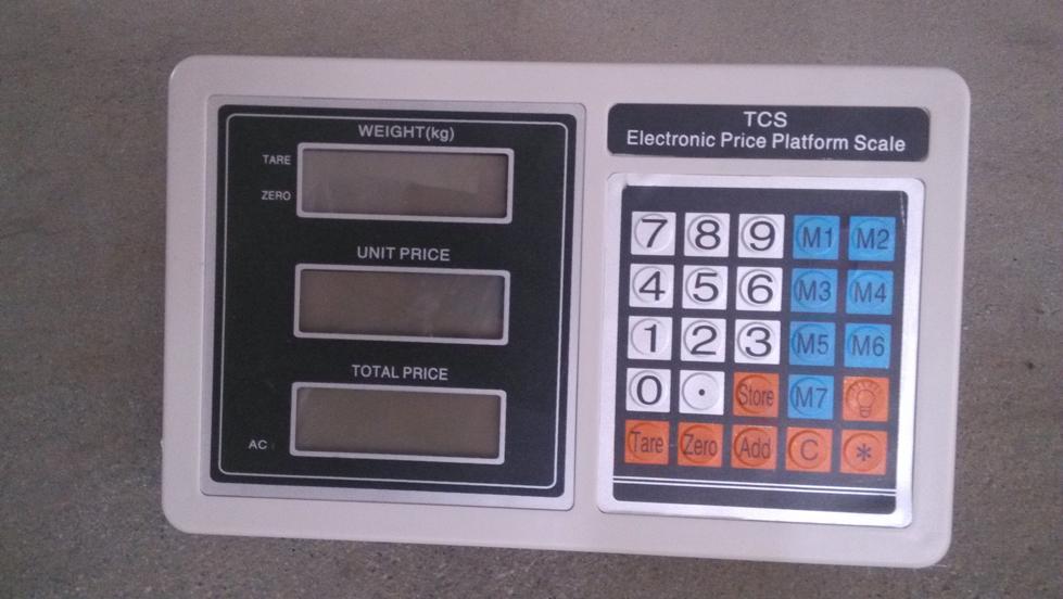 Electronic Platform Scale Tcs Platform Scale