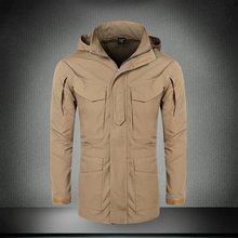 M65 армейская одежда для мужчин, повседневная тактическая ветровка, куртка-бомбер для мужчин, зима-осень, летное пальто с капюшоном, военные к...(Китай)