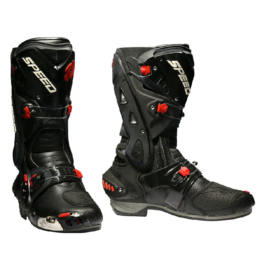 new concept 4a56c 5ad18 Riding Necessary PRO-BIKER Waterproof Motorcycle Boots Bikers Non-slip Moto  Racing Motocross Leather