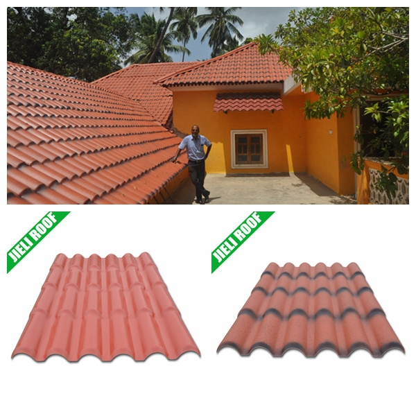 light weight pvc plastic roof tile for residential house. Black Bedroom Furniture Sets. Home Design Ideas