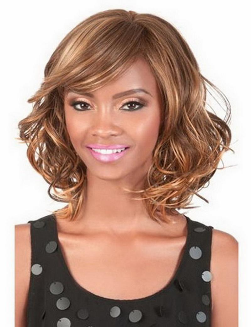 Stupendous Fashion Latest Medium Length Hairstyles Heat Resistant Synthetic Short Hairstyles Gunalazisus