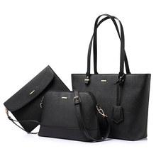 Женские сумки на плечо LOVEVOOK, набор cумки 3 шут. наплечная сумка большой емкости, сумки через плечо для женщин с кисточкой, дамский клатч и коше...(Китай)