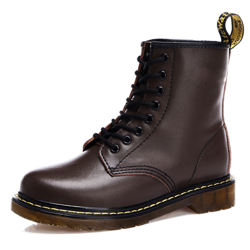 Winter Boots 2015 New Autumn Dr Genuine Leather Martin