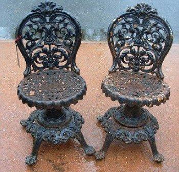 Cast Iron Victorian Chairs Buy Chair Product On Alibaba Com