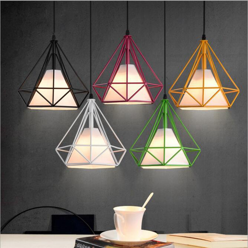Birdcage Pendant Lamp Shade Scandinavian Modern Minimalist