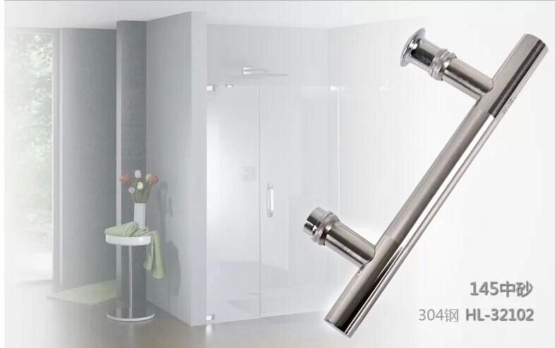 en acier inoxydable poign e de douche 19 145 salle de bains poign e de verre poign e dans. Black Bedroom Furniture Sets. Home Design Ideas