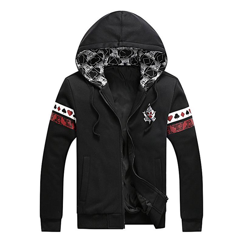 Poker hoodie