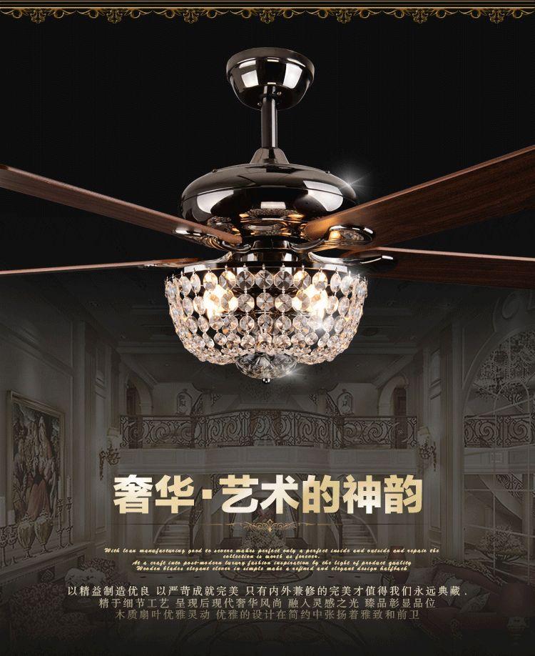Crystal Chandelier Fan: Ceiling Fan Crystal Chandelier Reviews