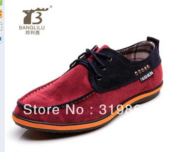 Bangli олень новой англии мужская свободного покроя туфли , чтобы помочь холст дышащие студентов