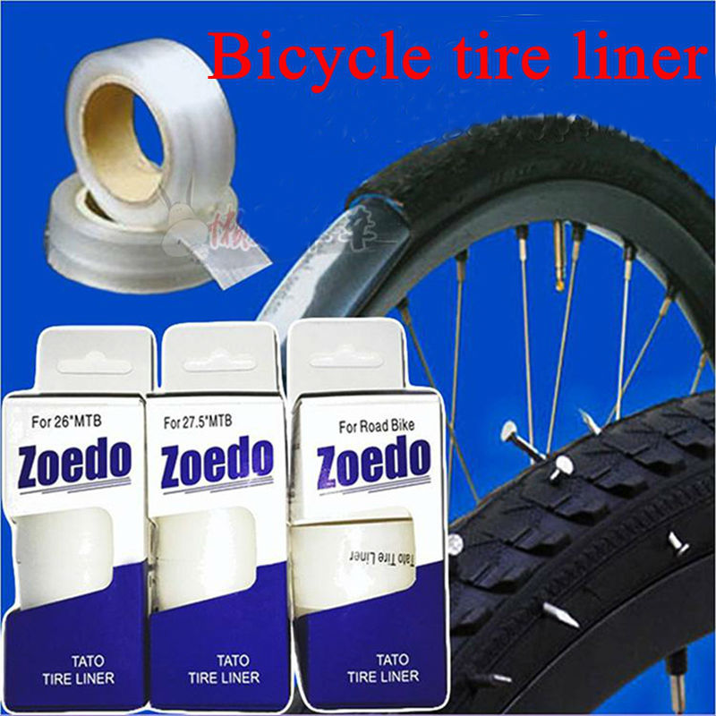 Bicycle Bike MTB Mountain Tire Liner Puncture Proof Belt Protection 4 Sizes