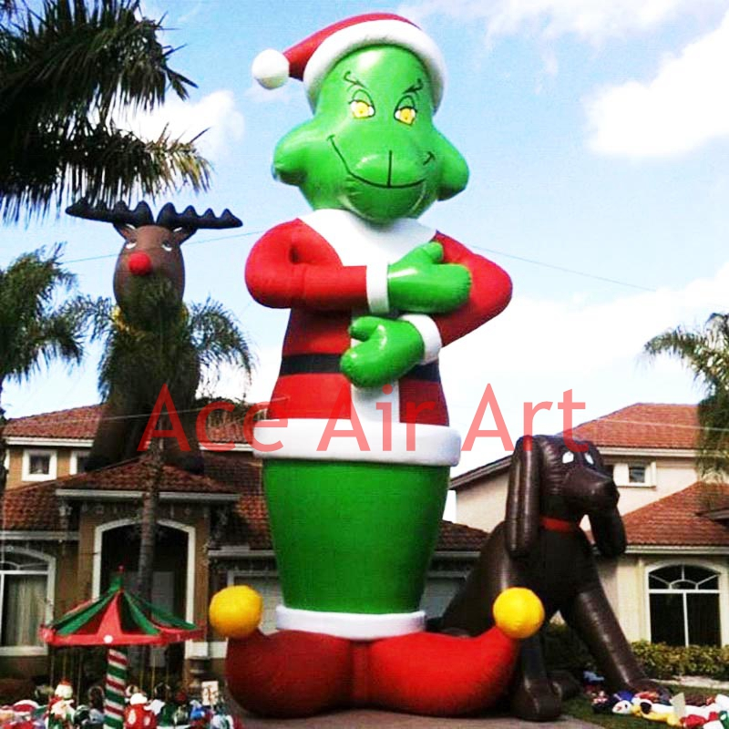 Cheap Inflatable Yard Decorations: Online Get Cheap Christmas Inflatable Grinch -Aliexpress