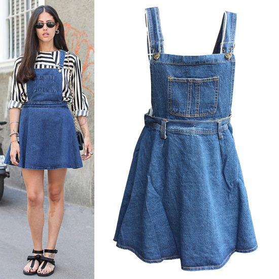 Womens Blue Jean Skirts