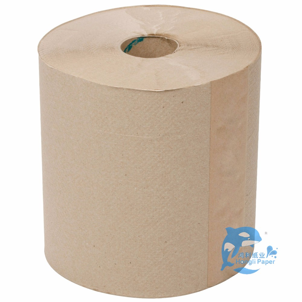Hand Towel Toilet Paper Reels Brand Name Printed Tissue