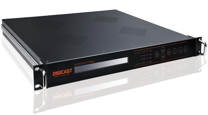 tuner or asi to ip gateway tsc 2300 32 spts output via gige port applied to dvb broadcasting. Black Bedroom Furniture Sets. Home Design Ideas